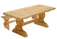 TABLE MONASTERE 220 + BANCMONA