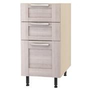 Шкаф напольный с 3 ящиками ш.400