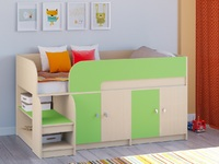 Двухъярусная кровать Астра-9 Дуб молочный V2