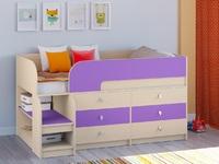 Двухъярусная кровать Астра-9 Дуб молочный V3