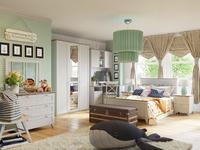 Ривьера ГН-241.101 Набор мебели для детской комнаты №1