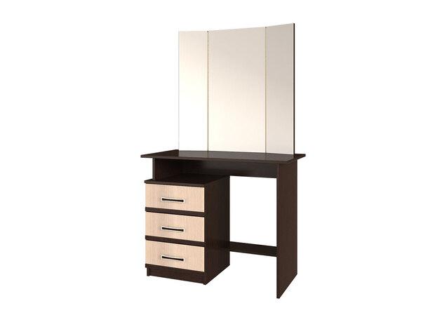 Стол туалетный с зеркалом Сакура