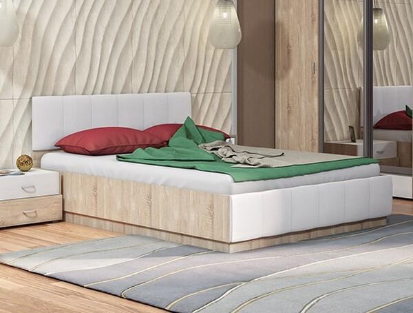 Линда 140 кровать с ПМ / Линда 160 кровать с ПМ