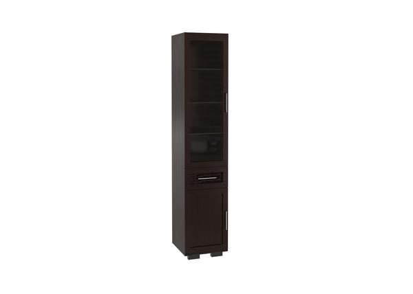 Шкаф 450 со стеклом Парма Люкс
