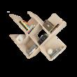 Комплект настенный полок Файн-17