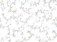 Стеновая панель 150/305 см, цветочный сатин