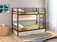 Кровать Севилья  2 с полкой и ящиком