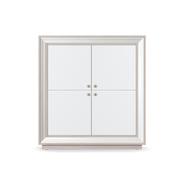 Шкаф 4-х дверный низкий Прато