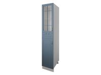 Пенал Н=200 см 2 двери (1 со стеклом) 1 ящик 40 см Палермо