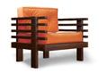 Кресло Стоун (бук)
