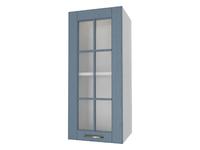Шкаф 1 дверь со стеклом 30 см Палермо