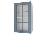 Шкаф 1 дверь со стеклом 40 см Палермо