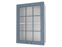 Шкаф 1 дверь со стеклом 50 см Палермо