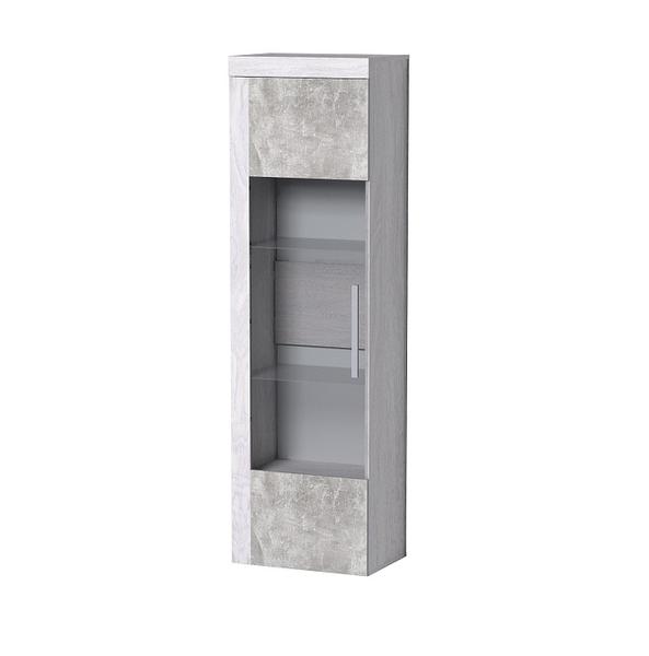 Леон 1 шкаф-витрина