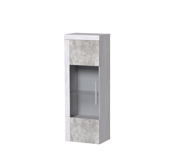 Леон 2 шкаф-витрина