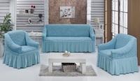 "Набор чехлов ""Стамбул"" диван + 2 кресла с юбкой"