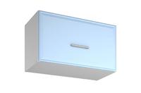"Шкаф навесной для вытяжки ш60 + фасад ""БЕЛЛА"" (СТЛ.281.04)"