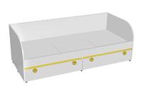 Кровать детская с ящикам Мамба КР-01