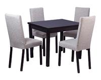 Стол Франц СТ01 + 4 стула Велюр С17
