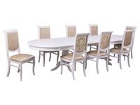 Стол Верона + 8 стульев Флоренция2