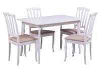 Стол Йорк + 4 стула Сити