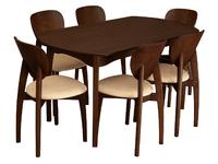 Стол Модерн-2 + 6 стула Модерн