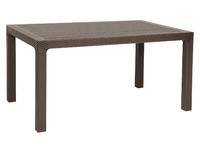 Стол пластиковый без стекла DEL/AR-R/90x150/F