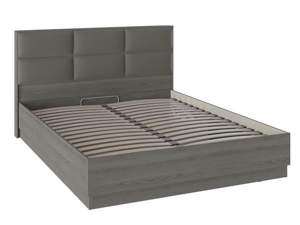 Кровать с подъемным механизмом и мягким изголовьем «Либерти» СМ-297.01.002