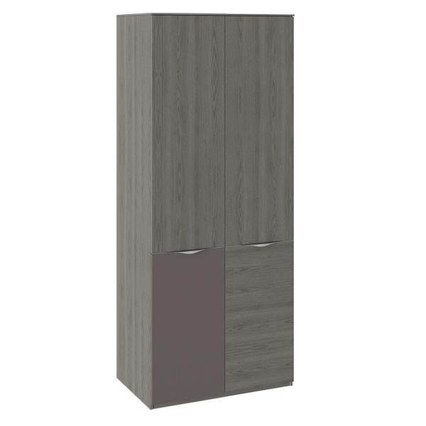 Шкаф для одежды с 2 дверями «Либерти» СМ-297.07 с декоративными топами