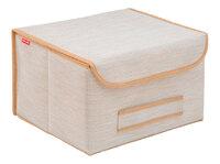 Коробка для хранения с крышкой 35х30х22см