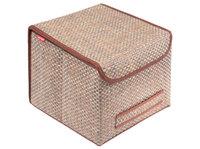 Коробка для хранения с крышкой 30х30х24см
