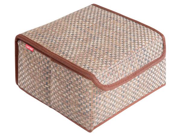 Коробка для хранения с крышкой 27х25х12см