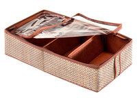 Органайзер для обуви 4 ячейки 28х56х12см