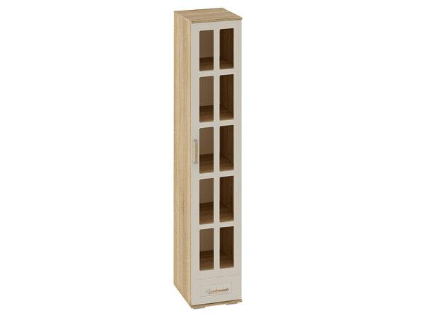 Узкий шкаф-витрина Маркиза