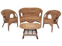 Mandalino (диван + 2 кресла + стол овальный)