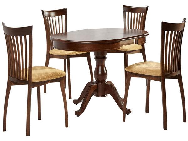 Стол Фабрицио + 4 стула Тулон