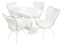 Стол Корсика + 4 стула Риоха
