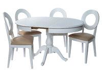 Фабрицио стол + 4 стула Коломбо