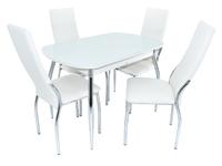 Стол Ривьера + 4 стула Асти