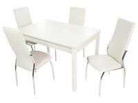 Стол Гамбург + 4 стула Мартини