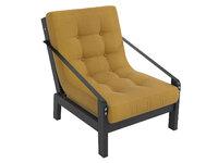 Кресло Локи Textile каркас сосна