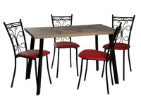 Стол Бремор + 4 стула Неаполь