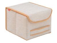 Коробка для хранения с крышкой 25х27х20см