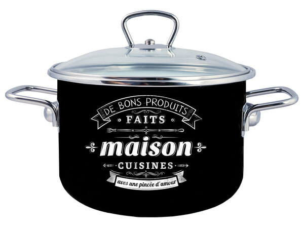Кастрюля эмал цил Maison 2,0л ТМ Appetite