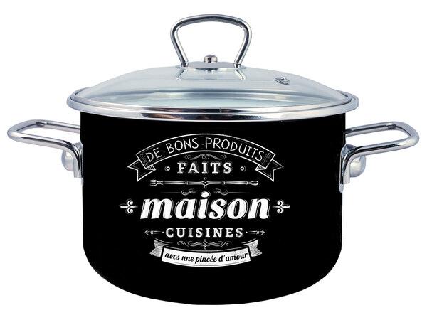 Кастрюля эмал цил Maison 5,5л TM Appetite