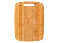 Доска разделочная в полоску с желобком 34*24*1,8см, бамбук BRAVO