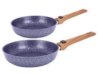 Набор посуды Casta Provance. Комплект: Сковорода 22см, глубокая со съёмной ручкой. Сковорода 28см, глубокая со съёмной ручкой