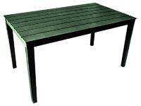 Стол пластиковый Прованс прямоугольный