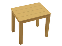 Столик к лежаку Прованс пластик