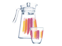 LUMINARC Q4110 Набор питьевой 7 предметов ПЕЙНТ БРАШ стекло